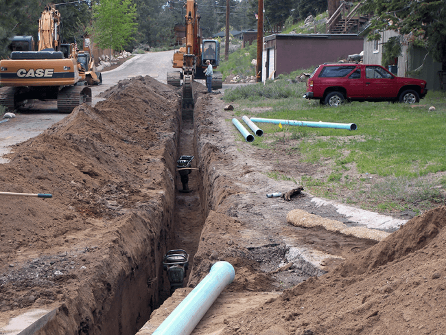 Spring Creek Track Water System Improvements
